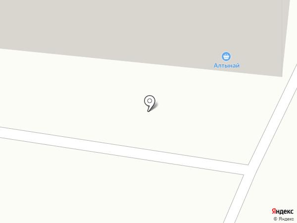 Алтынай на карте Караганды