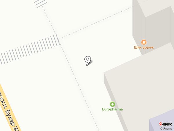 Ганга на карте Караганды