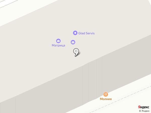 Архитектурное бюро на карте Караганды
