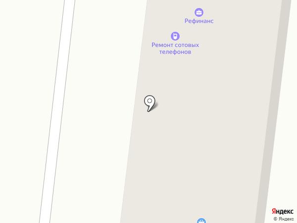 Прихан на карте Караганды
