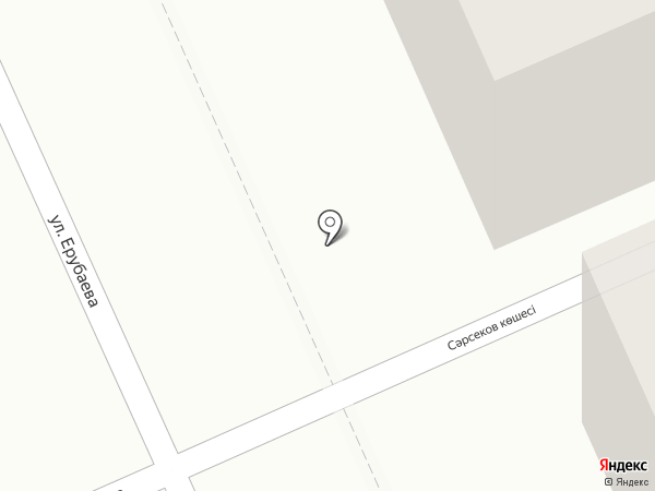 Ерубаева 2 на карте Караганды