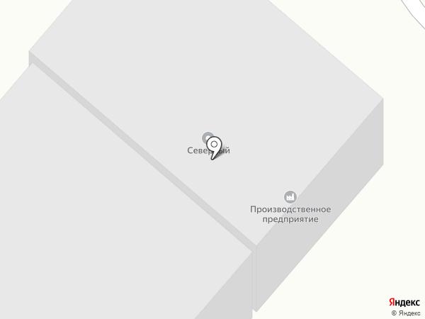 Ареал на карте Караганды