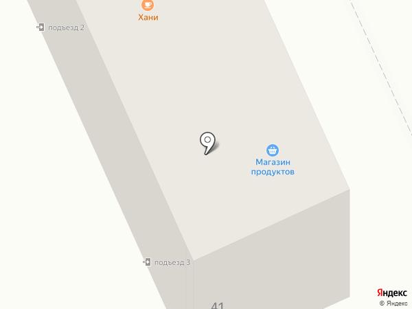 Хани на карте Караганды