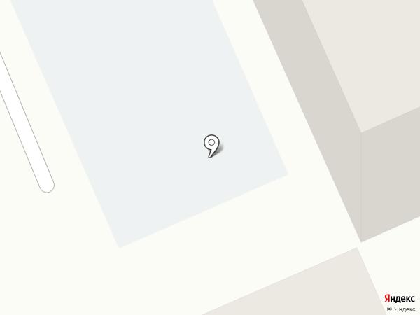Янардаг на карте Караганды