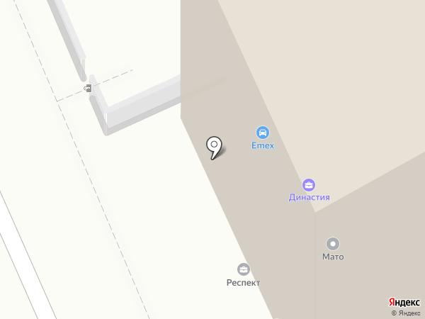 Virsavia на карте Караганды