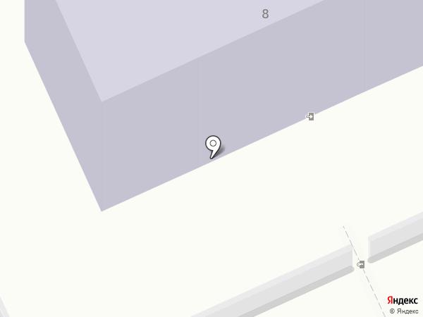 Фламинго на карте Караганды