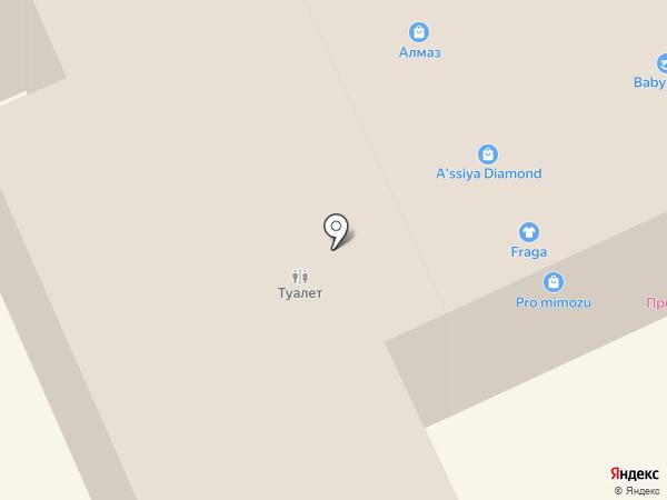 Магазин ювелирных изделий на карте Караганды