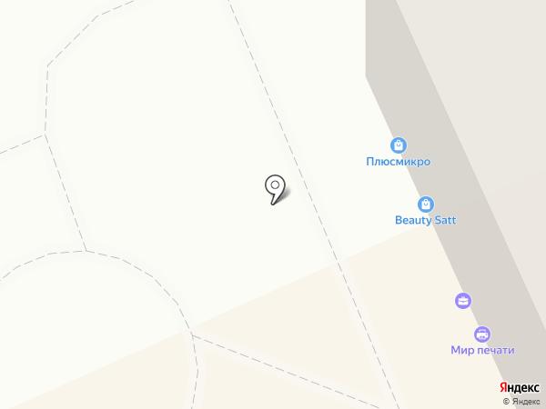 КомПорт на карте Караганды