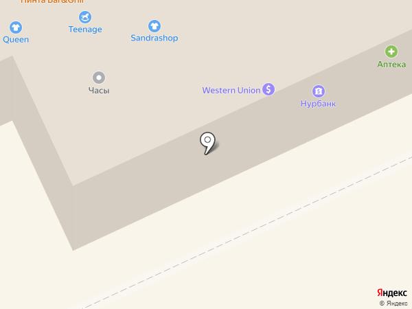 Парижанка на карте Караганды