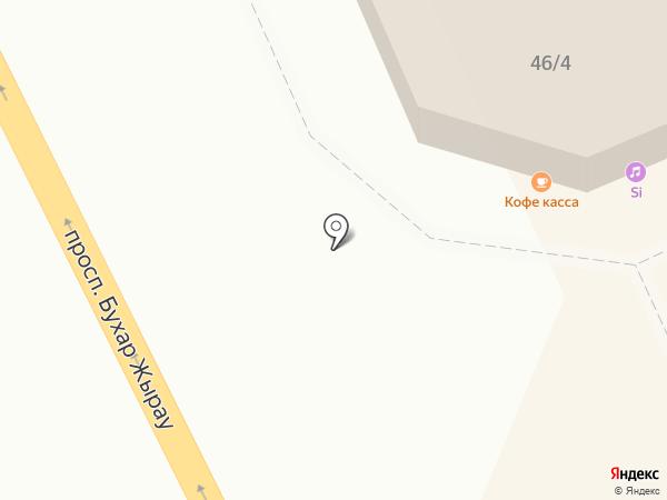 Донер Магнит на карте Караганды