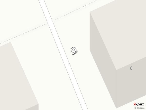 Автопоток на карте Караганды