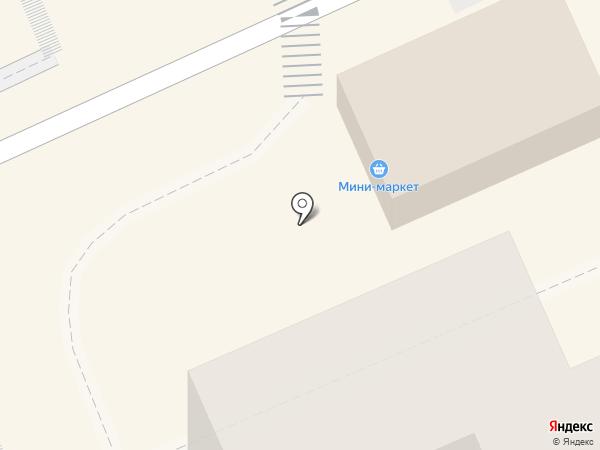 Мини-маркет на карте Караганды