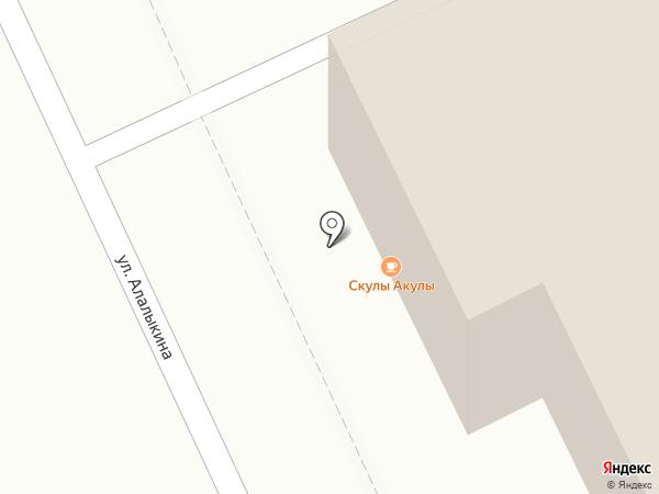 12 на карте Караганды