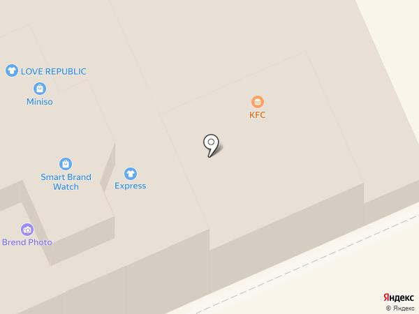 KFC на карте Караганды