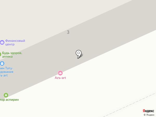 Тепло на карте Караганды