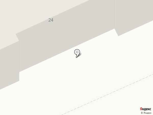 Грамотей на карте Караганды