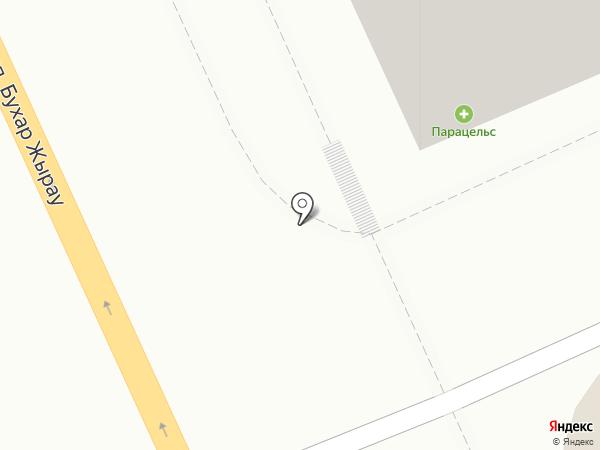 Магазин цветов на карте Караганды
