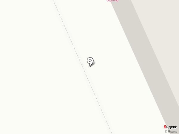 Styling на карте Караганды