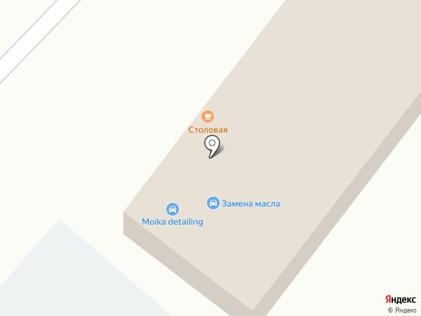 STO на карте Караганды