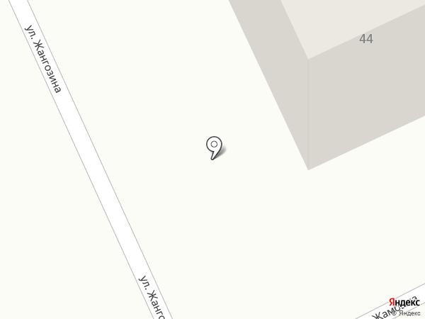 Кахарман 2014 на карте Караганды