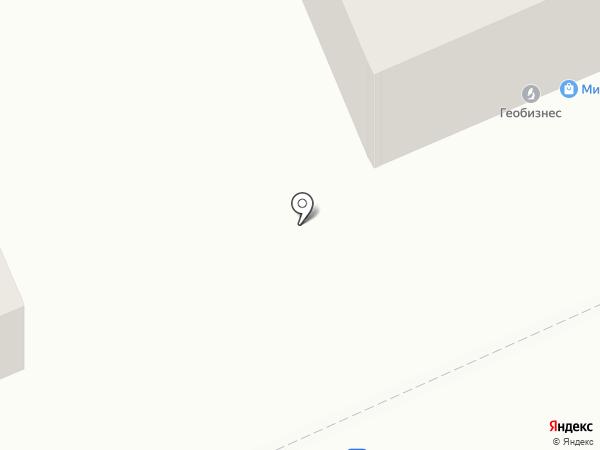 Геобизнес, ТОО на карте Караганды