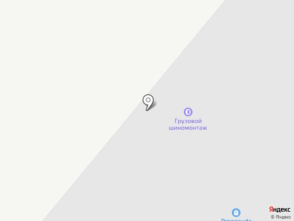 Шиномонтажная мастерская на карте Караганды