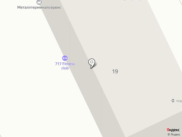 Мастерская на карте Караганды