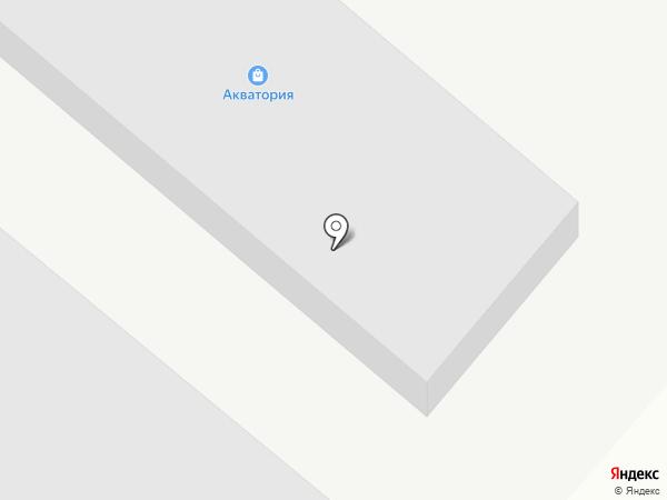 Акватория на карте Караганды