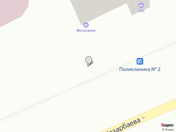 DPI на карте Караганды