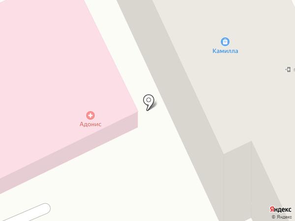 Эстель на карте Караганды
