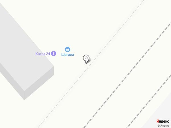 Ак Шагала на карте Караганды