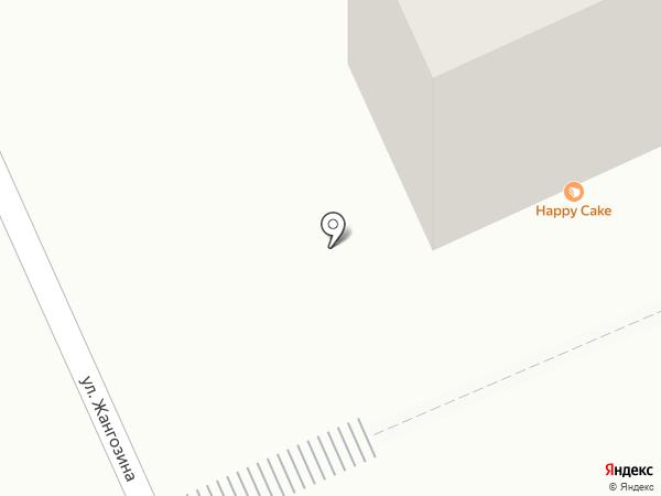 Гейша на карте Караганды