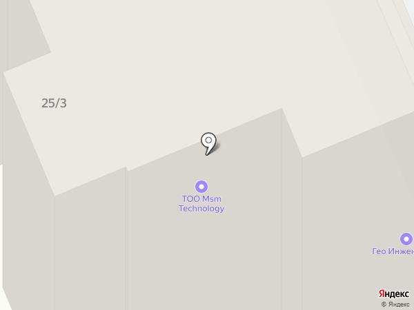 ГЕО ИНЖЕНЕРИНГ, ТОО на карте Караганды