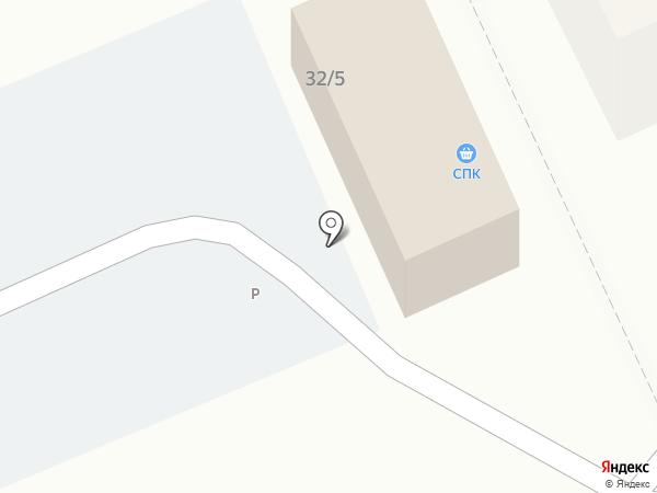 Береке-2010 на карте Караганды