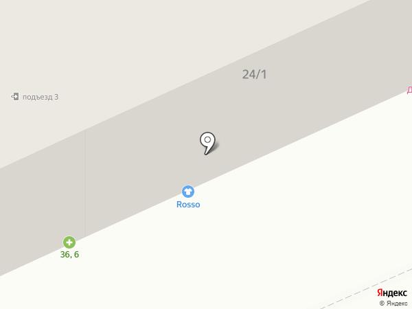 Rosso на карте Караганды