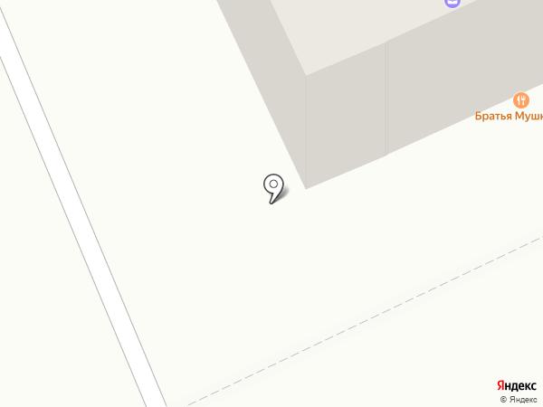 Солнышко на карте Караганды