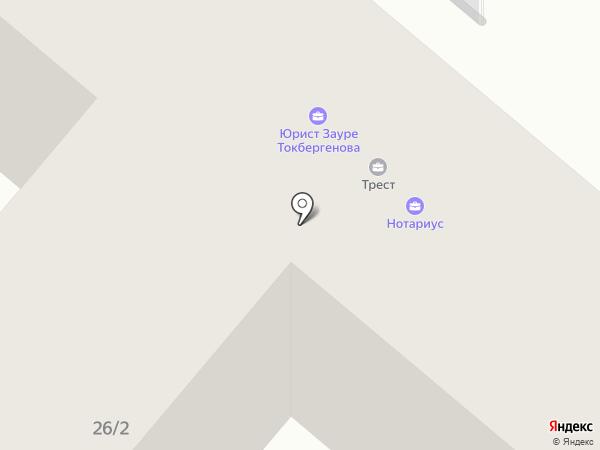 Караганда ГеоИнфоПроект, ТОО на карте Караганды
