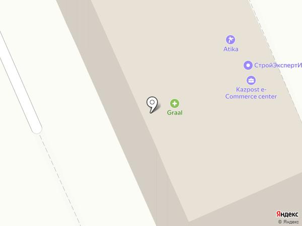 Atika Plus на карте Караганды