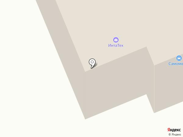 Самомойка на карте Караганды