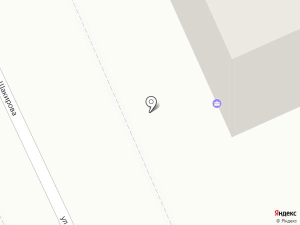 Нотариус Ералин на карте Караганды