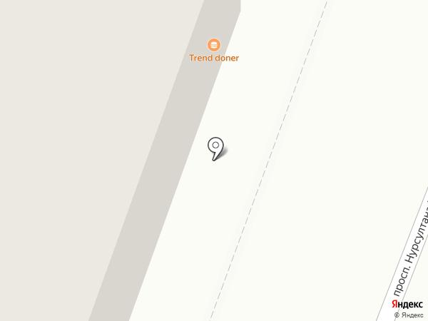 Киоск по продаже печатной продукции на карте Караганды