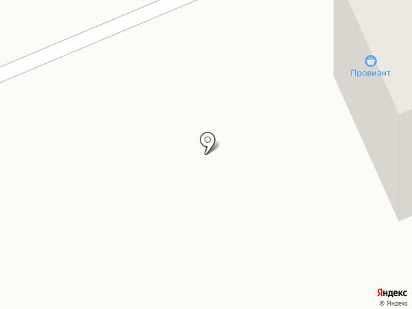 Алексей и Валентина на карте Караганды
