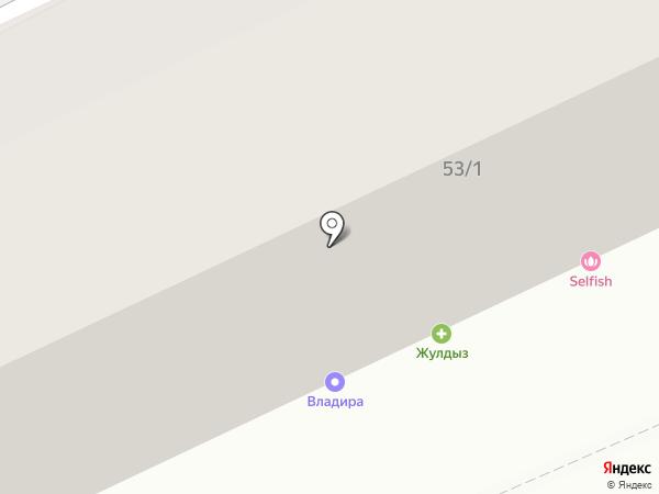 Аршан на карте Караганды