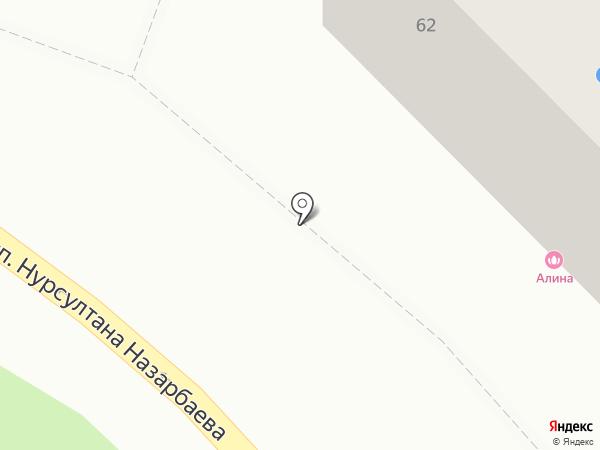 Alisha на карте Караганды