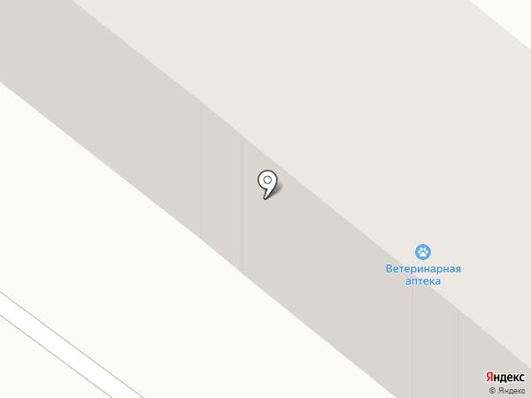 Ветеринарная аптека на карте Караганды