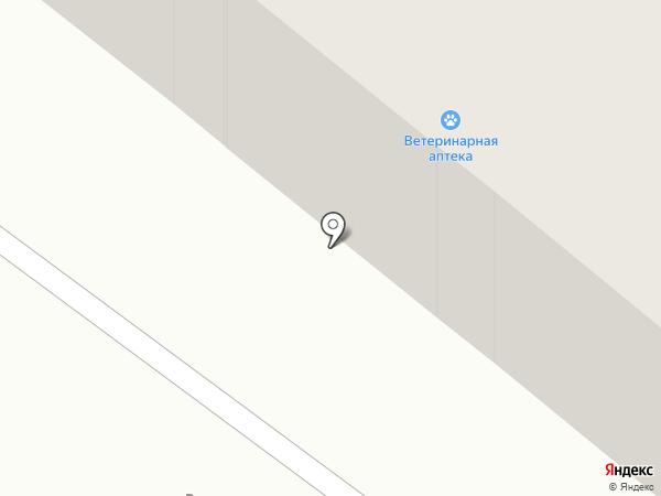Тан на карте Караганды