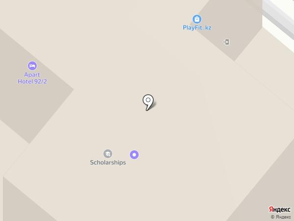 ШАГ на карте Караганды