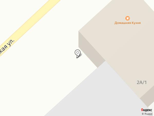 Домашняя столовая на карте Караганды