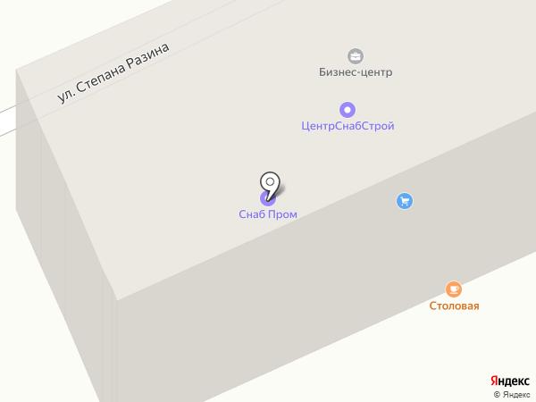 КазПромБизнес, ТОО на карте Караганды