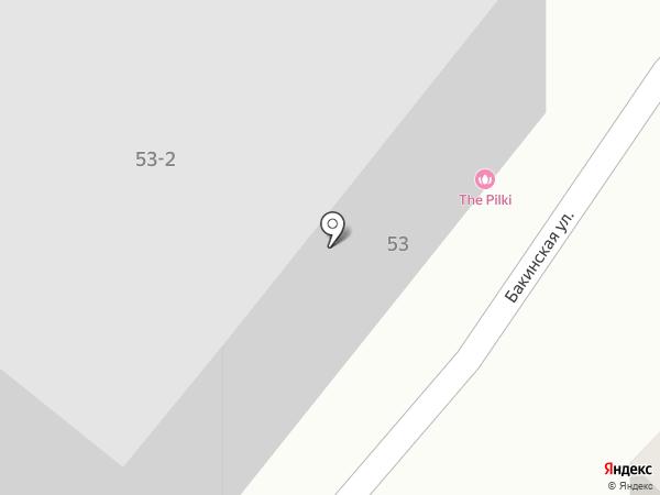 Беби-Буль на карте Караганды